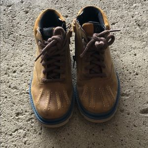 Clark boy shoes
